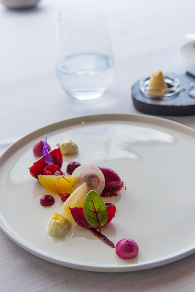 Singapore Best Restaurants Jaan Beetroot Collection