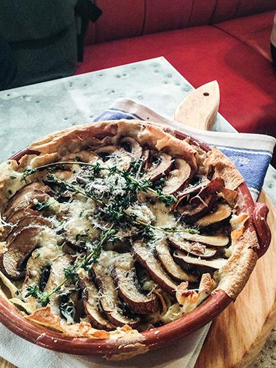 Jamie's Italian Vivocity Singapore Baked Mushrooms