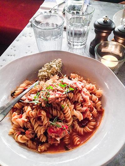 Jamie's Italian Vivocity Singapore Tuna Fusili