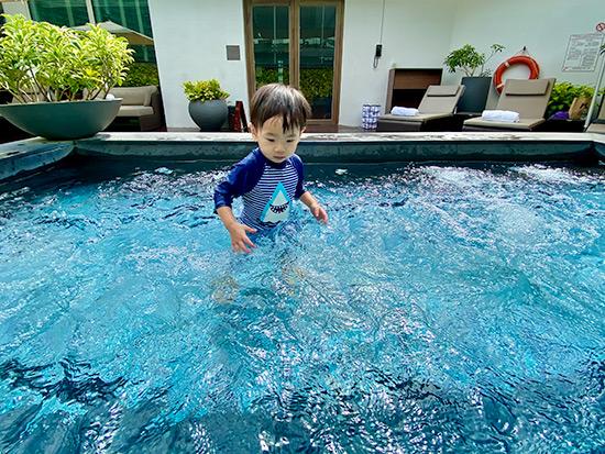 The Capitol Kempinski Hotel Singapore Swimming Pool