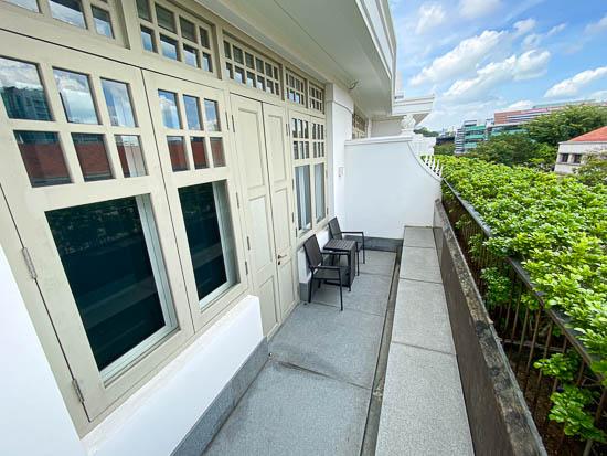Capitol Hotel Kempinski Singapore Terrace Room