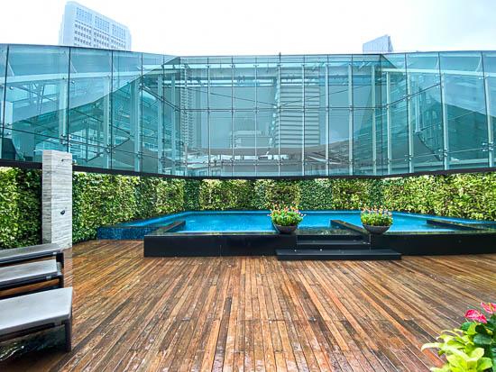 Capitol Hotel Kempinski Singapore Salt Water Relaxation Pool