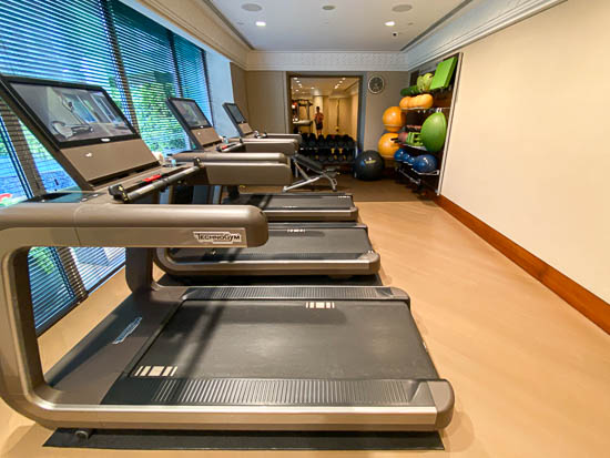 Capitol Hotel Kempinski Singapore Gym