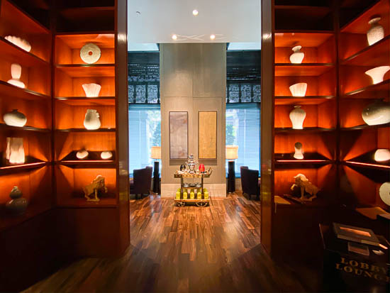 Capitol Hotel Kempinski Singapore Executive Lounge