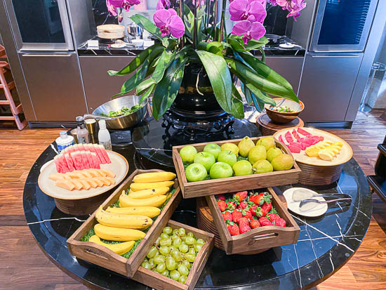 Capitol Hotel Kempinski Singapore breakfast buffet