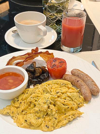 Capitol Hotel Kempinski Singapore breakfast