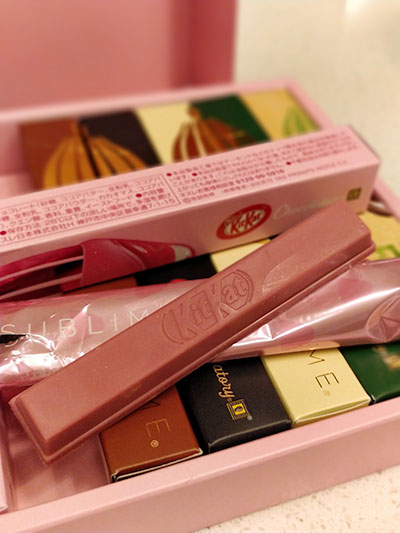Kit Kat Chocolatory Sublime Ruby