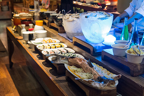 Awe Inspiring Seafood From The Heart The Kitchen Tables Dinner Buffet Interior Design Ideas Tzicisoteloinfo