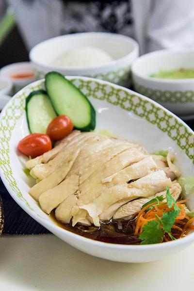 Chatterbox Mandarin Chicken Rice Singapore