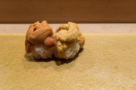Mantenzushi Marunouchi Tokyo Bafun and Murasaki Uni Sushi