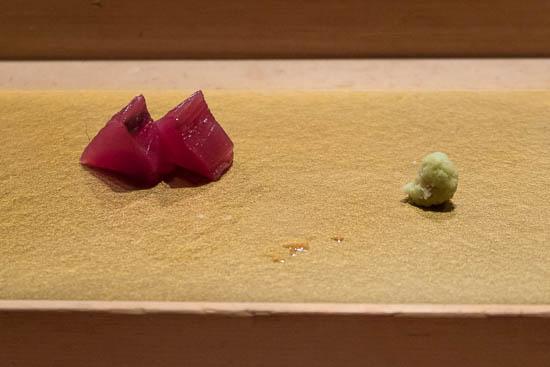 Mantenzushi Marunouchi Tokyo Cured Bonito