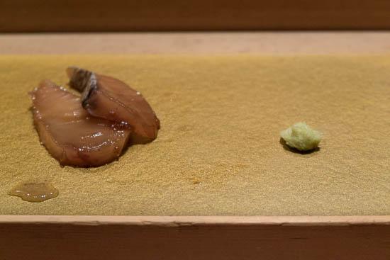Mantenzushi Marunouchi Tokyo Sawara Sashimi
