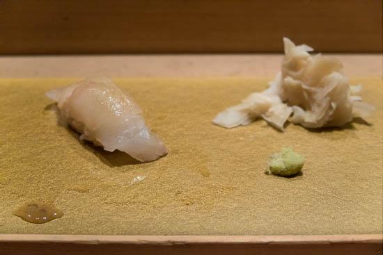 Mantenzushi Marunouchi Tokyo Hirame Sushi