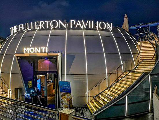 Monti Fullerton Pavilion Dinner