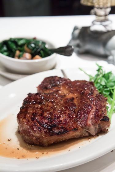 Morton's Rib Eye Steak, Medium Rare