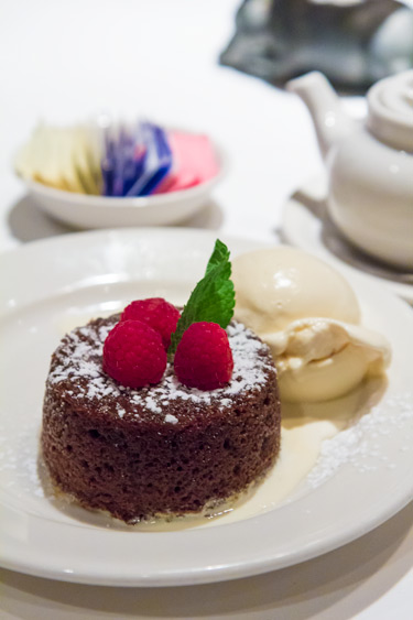 Morton's Legendary Chocolate Lava Cake