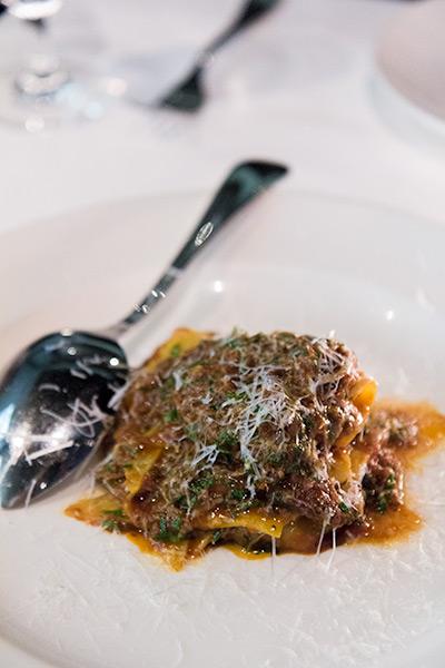 Osteria Mozza Best Italian Restaurant in Singapore Maltagliati with Duck Ragu