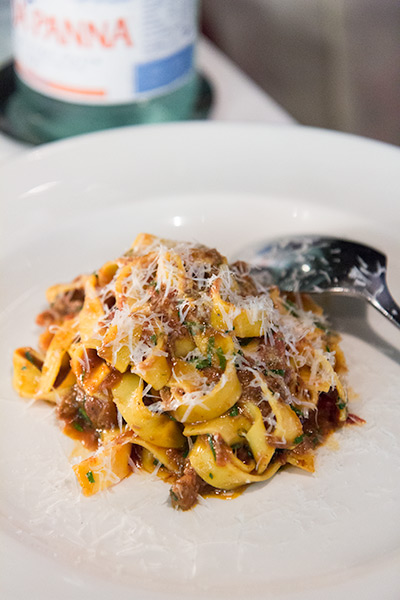Osteria Mozza Best Italian Restaurant in Singapore Tagliatelle with Oxtail Ragu