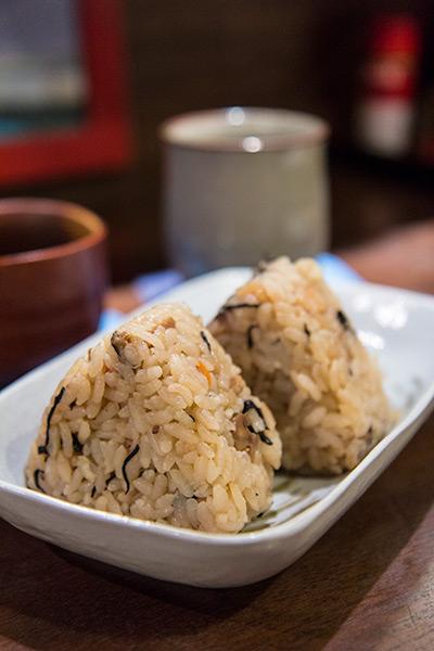 Nirai Kanai Okinawan Restaurant Onigiri Rice Balls