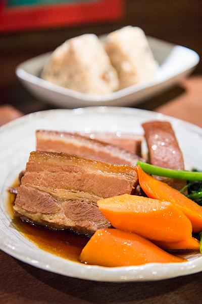 Nirai Kanai Okinawan Restaurant Buta Kakuni Stewed Pork