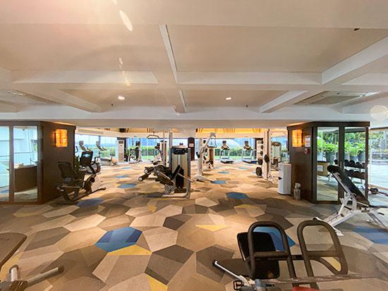 Parkroyal Collection Marina Bay Gym and Swimming Pool