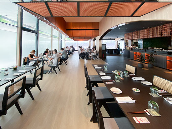 Parkroyal Collection Marina Bay Peppermint Breakfast