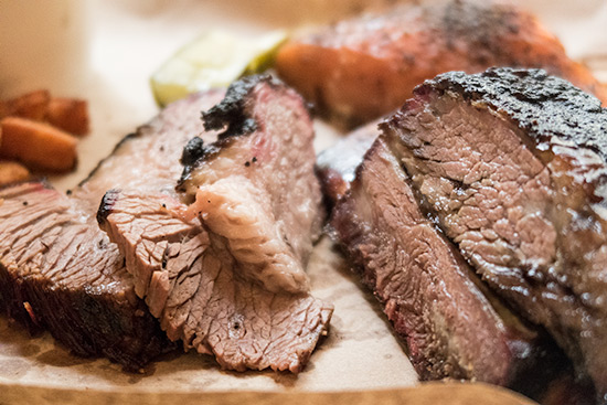 Red Eye Smokehouse Brisket and Ribs