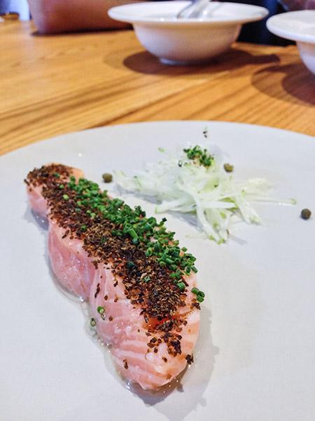 Saveur Budget French Cuisine Salmon Confit