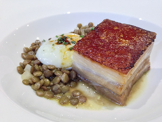 Saveur Budget French Cuisine Pork Belly