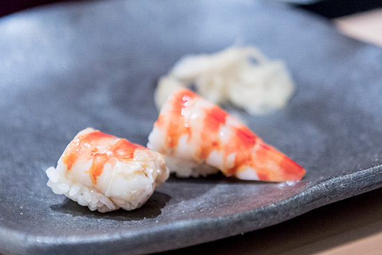 Shinji by Kanesaka Best Sushi in Singapore Kuruma Ebi Tiger Prawn