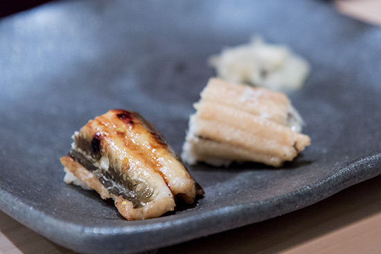 Shinji by Kanesaka Best Sushi in Singapore Salted Unagi Eel