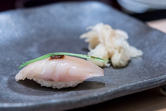 Shinji by Kanesaka Best Sushi in Singapore Sawara Spanish Mackerel
