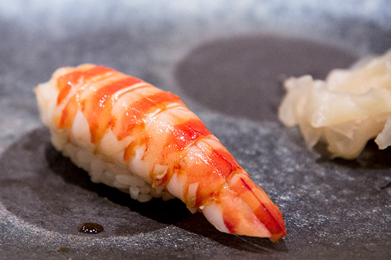 Singapore Best Omakase Sushi Shinji by Kanesaka Kuruma Ebi Sushi