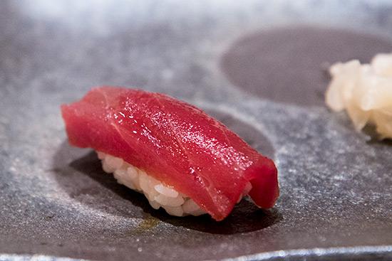 Singapore Best Omakase Sushi Shinji by Kanesaka Maguro Akami Sushi