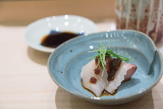 Singapore Best Omakase Sushi Shinji by Kanesaka Sawara Sashimi