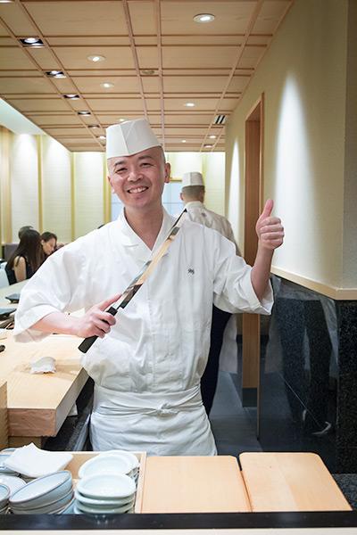 Singapore Best Omakase Sushi Shinji by Kanesaka Master Chef Koichiro Oshino