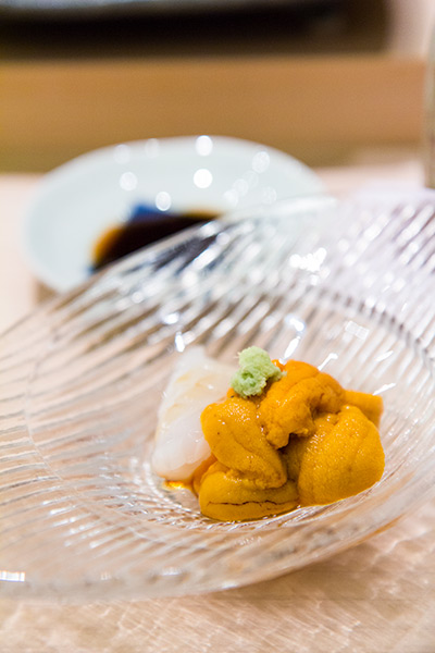 Singapore Best Omakase Sushi Shinji by Kanesaka Ika and Uni