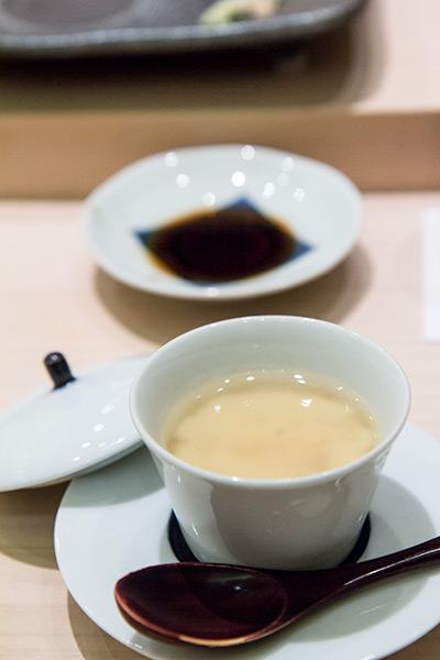 Singapore Best Omakase Sushi Shinji by Kanesaka Chawanmushi with Prawn Paste