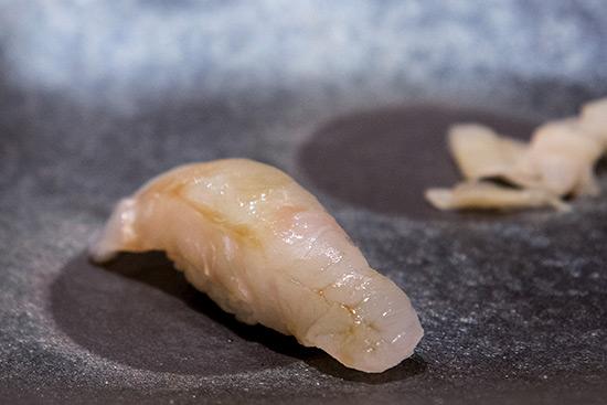 Singapore Best Omakase Sushi Shinji by Kanesaka Hirame Sushi