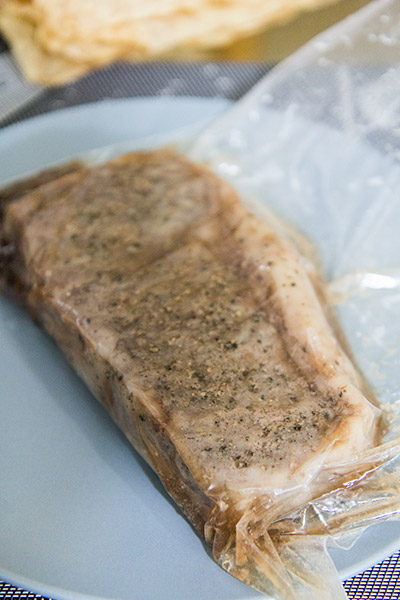 Perfect Steak Sous Vide