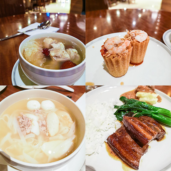 Singapore Airlines SilverKris Lounge Food