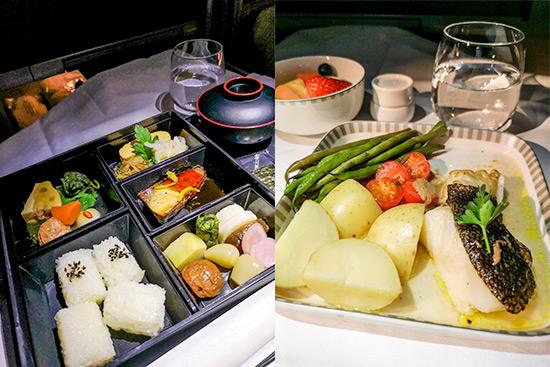Singapore Airlines Regional Business Class Food SQ638 Hanakoireki