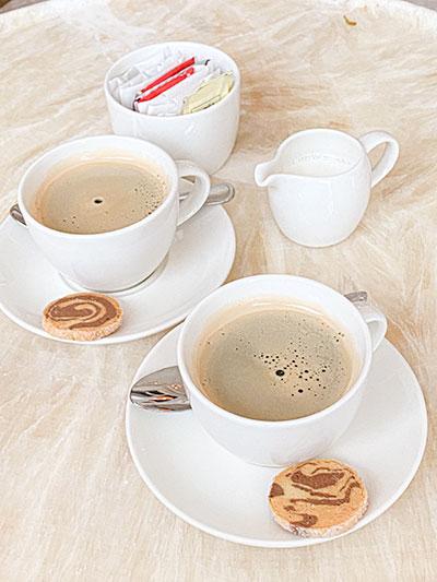 St Regis Hotel Singapore Butler Coffee