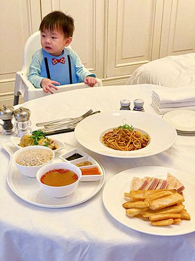 St Regis Hotel Singapore In Room Dining