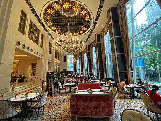 St Regis Hotel Singapore Breakfast