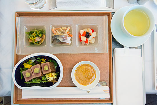 Singapore Airlines Suites SQ12 SIN-NRT Kyo-Kaiseki
