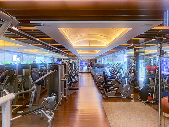 Singapore Marriott Tang Plaza Hotel Gym