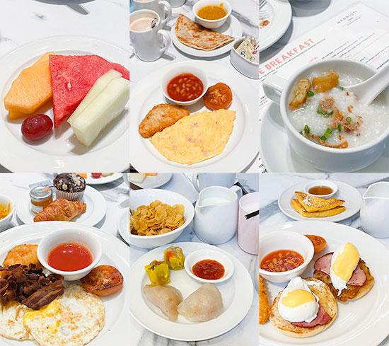 Singapore Marriott Tang Plaza Hotel Breakfast