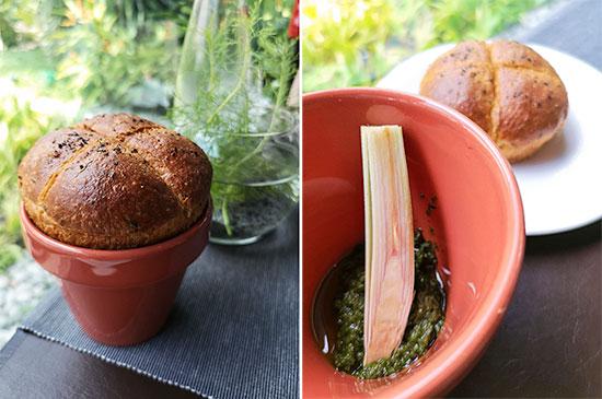 Tangerine Resorts World Sentosa Thai Fusion Fine Dining Spring Onion Bread