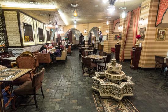 Lebanese delicacies tarbush restaurant sunway pyramid